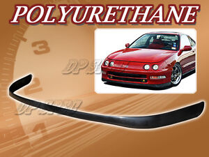 For 94 97 Acura Integra Sir Poly Urethane Pu Front Bumper Lip Spoiler Body Kit