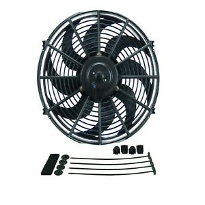 Derale 18914 Dyno Cool 14 Curved Blade Electric Fan