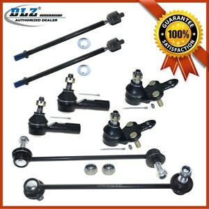 New Front Suspension Kit Inner Outer Tie Rod End For 1997 2004 Toyota Avalon