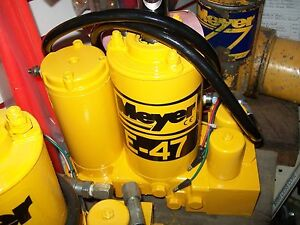 Meyer E47 Snow Plow Pump Rebuilt By Factory Trained Technician S