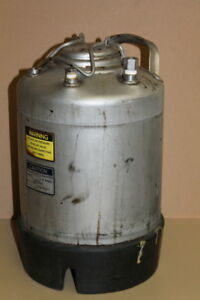 Pressure Pot Vessel 3 Gallon 140psi 100 Deg F Stainless Steel