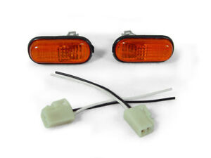 Depo Jdm Amber Dome type Fender Side Marker Lights For 1992 1995 Honda Civic