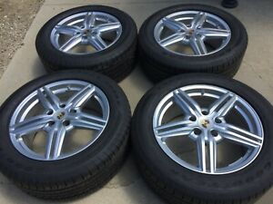 19 Oem Original Factory Made In Germany Porsche Cayenne Turbo Wheels Rims Tires