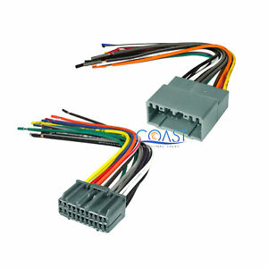 Car Stereo Radio Install Wiring Harness Combo For 2002 2010 Chrysler Dodge Jeep