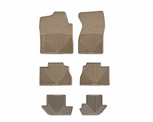 Weathertech All weather Floor Mats Gmc Yukon Xl 2000 2006 Tan