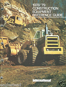 Equipment Brochure Ih Construction Product Line 1978 79 e2743