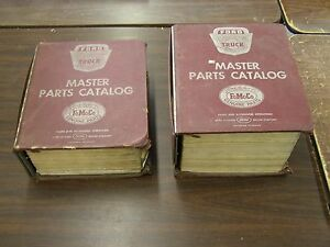 Oem Ford 1957 1968 Truck Master Parts Books F100 Econoline 1958 1959 1960 1961