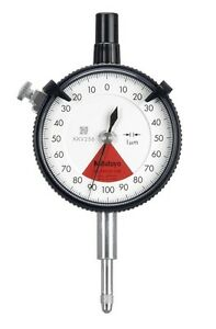 Mitutoyo 2901s 10 Dial Gage 0 001 0 16mm
