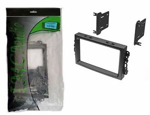 Chrysler Dodge Jeep Double Din Dash Kit For Radio Stereo Install Installation