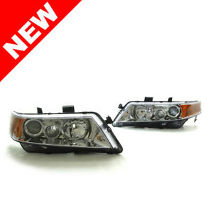 04 08 Acura Tsx Oem Factory Style Projector Headlights