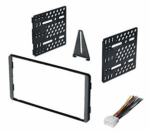 Double Din Car Radio Stereo Dash Kit 1995 2012 Ford Mercury Lincoln Harness