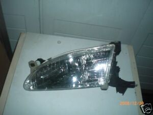 New 1998 1999 2000 Toyota Corolla Left Driver Headlight Aftermarket