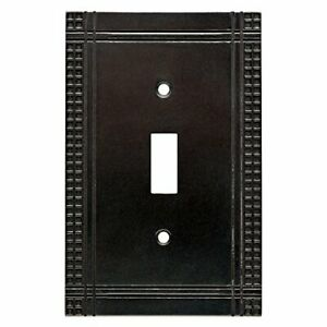 W32741 SI Mission Single Switch Soft Iron Cover Plate $9.49
