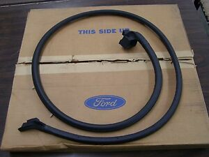 Nos Oem Ford 1966 1977 Bronco Door Gasket Rubber 1967 1968 1969 1970 1971 1972