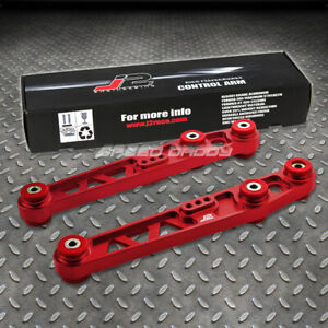 J2 Rear Lower Control Arm Suspension Kit 88 95 Honda Civic Eh Eg integra Dc Red