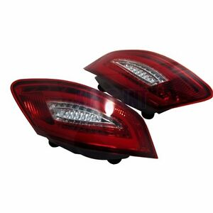 For Porsche 987 Boxster S Cayman S 05 08 Led Tail Light Rear Red Clear