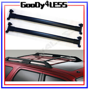 For 07 17 Ford Expedition Oe Style Roof Rack Cross Bars Luggage Carrier Sport