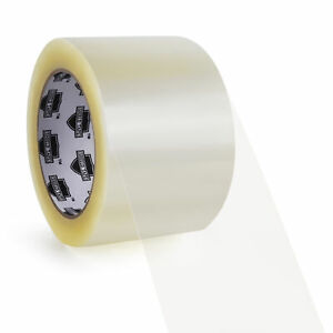 144 Rolls 6 Case Clear Carton Sealing Packing Tape Box Shipping 3 2 Mil 55 Yd