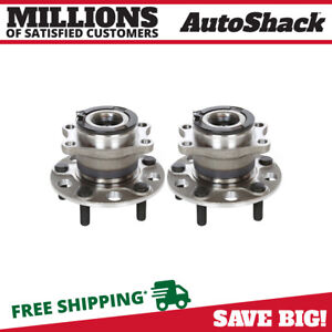 Rear Wheel Hub Bearing Assembly Pair 2 For Jeep Compass Patriot Dodge Caliber