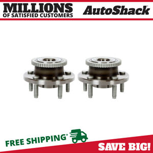Front Hub Assembly Pair For 2005 2008 2009 2010 2011 2012 2013 2014 Ford Mustang