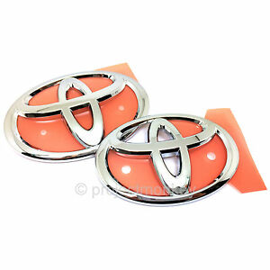 Jdm Toyota 13 16 Scion Frs 86 t Emblems Front Rear Fr s Gt86 Genuine Oem