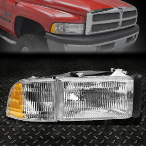 For 94 02 Dodge Ram 1500 2500 3500 Rh Passenger Side Headlight Corner Head Lamp