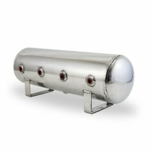 Air Lift 12958 Lightweight Polished Finish Aluminum 2 5 Gallon Air Tank