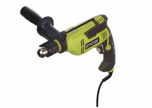 Ryobi Hammer Drill 6 2 Amp 5 8 In Reversible Variable Speed Chuck 3 Yr Warranty