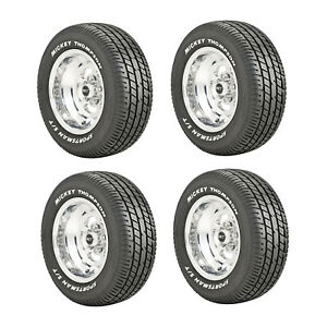 Mickey Thompson 90000000182 4 Set Sportsman S t Radial P245 60r15 Street Tires