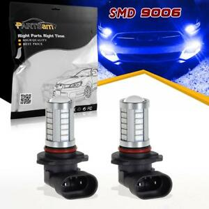 2pc 9006 Hb4 Blue Super Bright Projector 33 5730 Smd Led Fog Driving Light Bulbs
