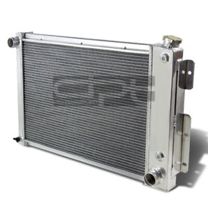 For 67 69 Chevy Camaro Firebird V8 Small Block Aluminum 3 Row Racing Radiator