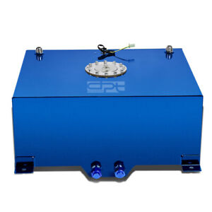 20 Gallon 76l Lightweight Blue Coat Aluminum Race Fuel Cell Tank Level Sender