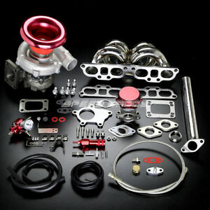 Sr20det T04 Stage Ii Turbo Charger Manifold Upgrade Kit For Nissan 240sx S13 s14