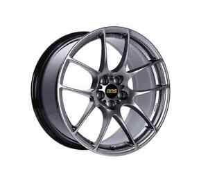 Bbs Rf520dbk Diamond Black 18x9 5x100 45mm Offset Aluminum Wheel
