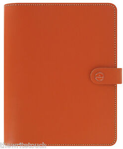 The Filofax Original Leather Organizer A5 Burnt Orange Uk 2018 Diary 022391