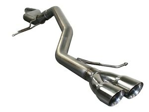 Afe 2 5 Cat Back Exhaust Kit For 2011 2014 Volkswagen Jetta 2 0l Tdi 49 46401