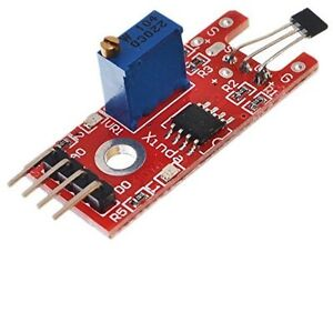 1pcs Hall Magnetic Standard Linear Module For Arduino Avr Pic New