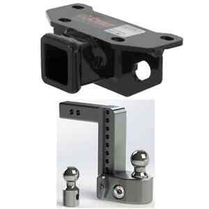 Curt Class 3 Trailer Hitch W Weigh Safe Adjustable 8 Ball Mount For Gx 460
