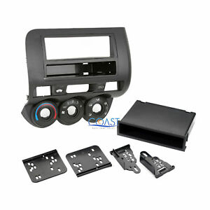 Car Radio Stereo Single Double Din Install Dash Kit For 2007 2008 Honda Fit