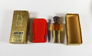 Antique La Castillere My Dream French Perfume Rare All Orig Parts Dauber