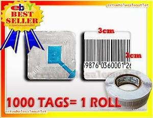 20000 Pcs Case Checkpoint Barcode Label Tag 8 2 3x3 Cm