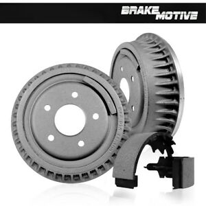 Rear Brake Drum Shoe Kit 2005 2006 2007 2008 Chevy Silverado 1500 Sierra 1500