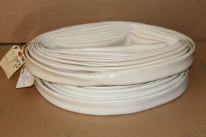 Non Heat Shrink Tubing Pvc Size 1 1 4 Electrical Sleeve White Lot Of 100 Ft