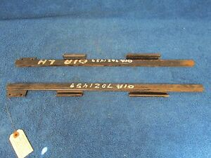1940 Ford Mercury Front Window Channels Pair New 316