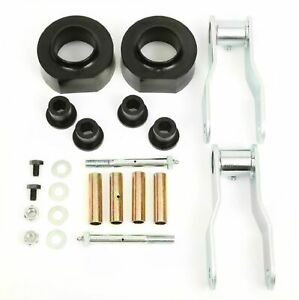 Rugged Ridge 18401 34 Blk Spacer Lift Kit For 2 Lift For 84 01 Jeep Cherokee Xj