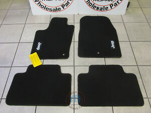 Jeep Grand Cherokee 2011 2012 Black Premium Floor Mats New Oem Mopar