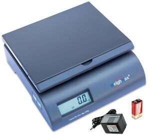Weighmax 2822 75 gray Digital Shipping Postal Scale With Batteries And Ac Adapte