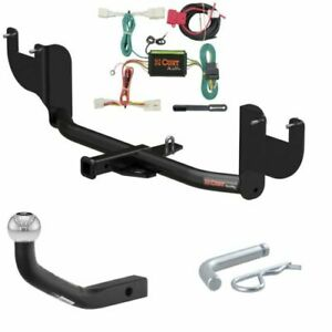 Curt Class 1 Trailer Hitch W 1 7 8 Euro Ball Mount Custom Wiring For Elantra
