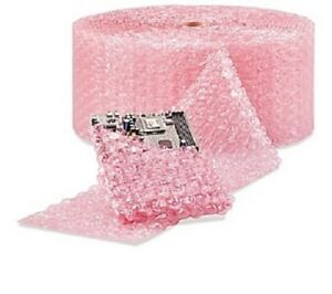 1 2 Large Bubble Wrap Cushioning Anti static Roll Pad 1000 X 12 Wide 1000ft