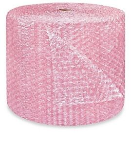 1 2 Large Bubble Cushioning Wrap Anti static Roll Padding 250 X 24 Wide 250ft